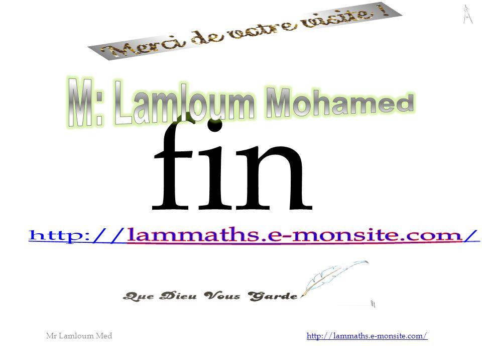 Mr Lamloum Med http://lammaths.e-monsite.com/http://lammaths.e-monsite.com/ fin