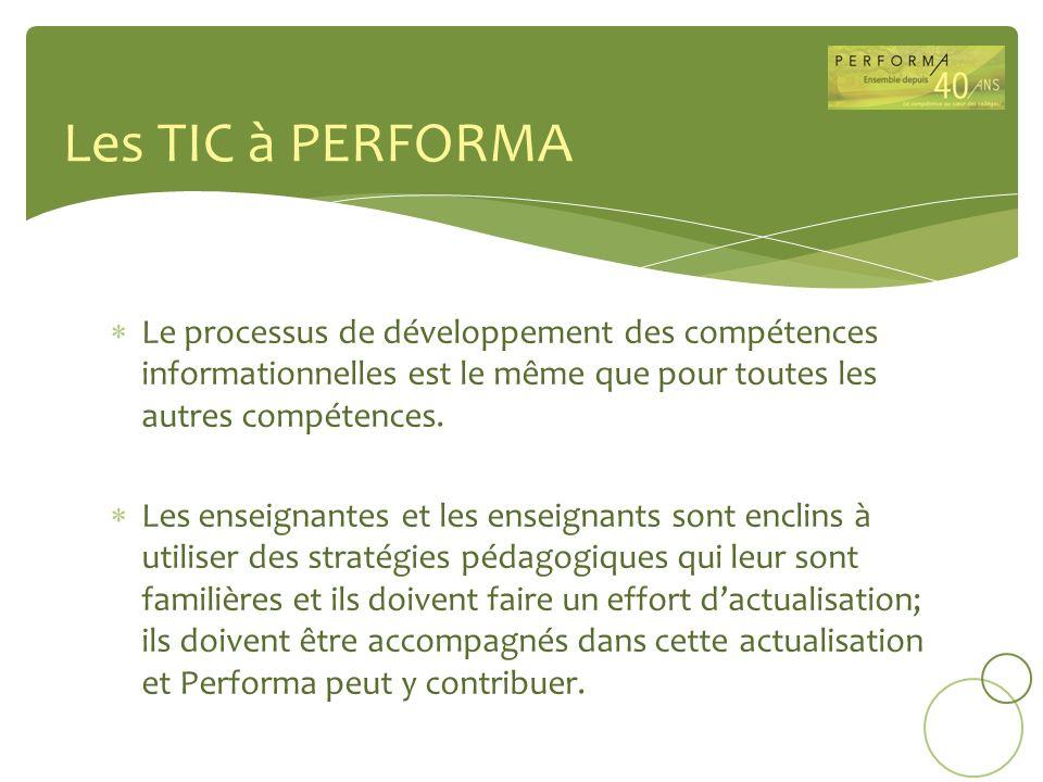 Le processus de développement des compétences informationnelles est le même que pour toutes les autres compétences. Les enseignantes et les enseignant