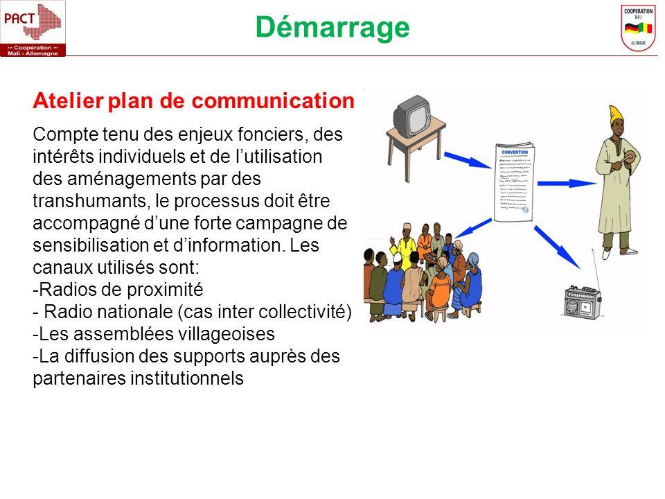 Compte tenu des enjeux fonciers, des intérêts individuels et de lutilisation des aménagements par des transhumants, le processus doit être accompagné