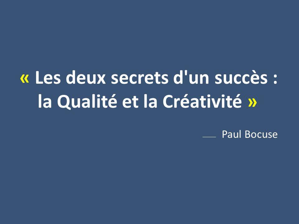 … et cest faire travailler votre créativité.
