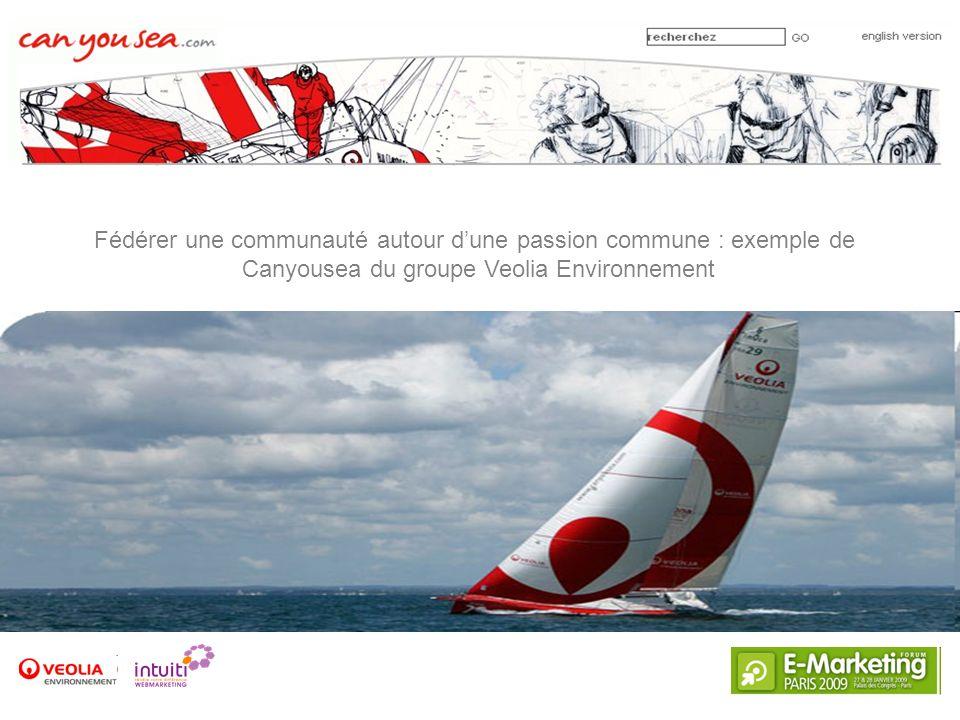 Fédérer une communauté autour dune passion commune : exemple de Canyousea du groupe Veolia Environnement