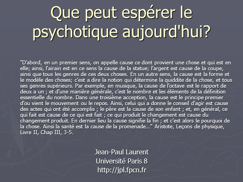 Introduction De nos antécédents: De nos antécédents: La psychothérapie institutionnelle: La clinique de Chailles (1975-1997) La psychothérapie institutionnelle: La clinique de Chailles (1975-1997) Le laboratoire de psychophysiologie clinique Le laboratoire de psychophysiologie clinique La psychanalyse La psychanalyse Une pratique institutionnelle Une pratique institutionnelle Luniversité Paris 8 Luniversité Paris 8 La recherche en neuropsychologie de la schizophrénie La recherche en neuropsychologie de la schizophrénie Une pratique clinique analytique Une pratique clinique analytique