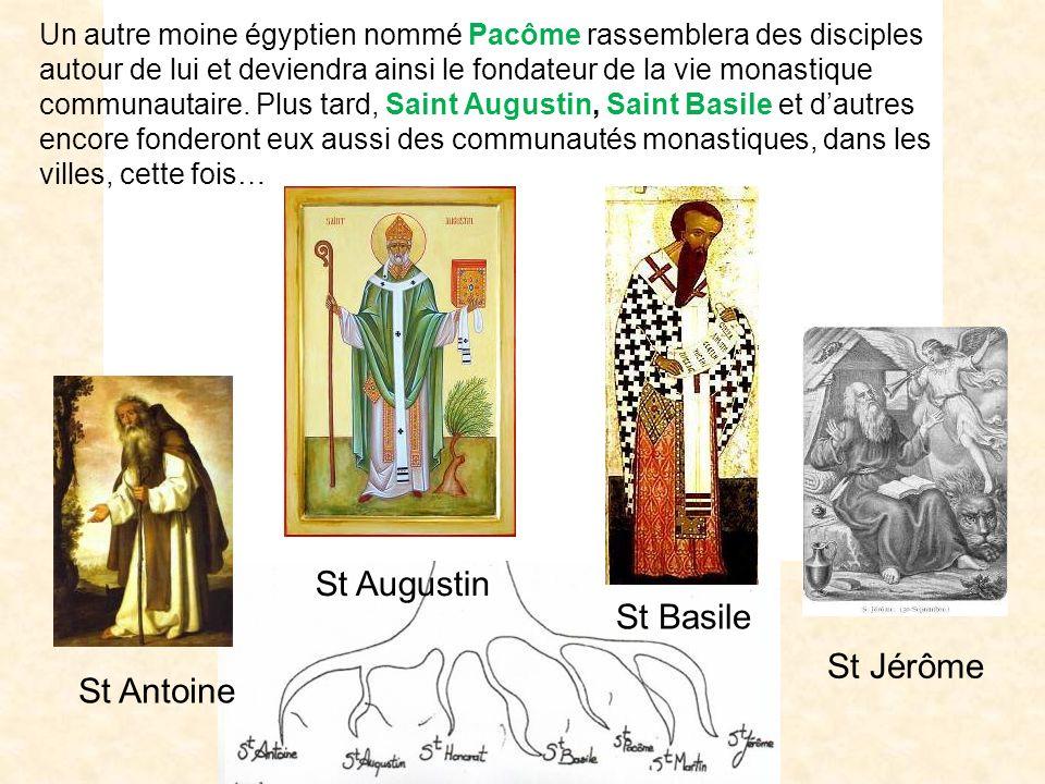 Citeaux Lérins Cluny Sénanque Clerlande Clairvaux Maredsous BrechtOrval Makkyad Chimay 111111111111111111111111 St Antoine St Augustin St Basile St Jé
