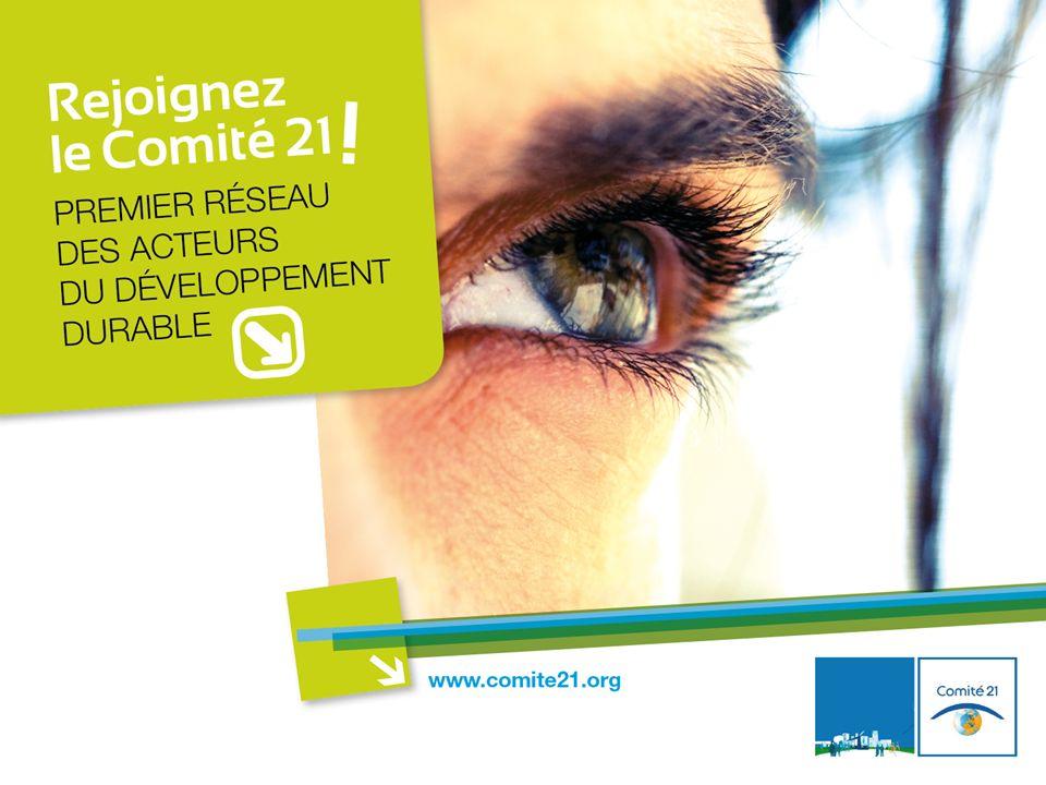 LE COMITÉ 21 EN QUELQUES MOTS Le Comité 21 est le premier réseau dacteurs engagés dans la mise en œuvre opérationnelle du développement durable en France.