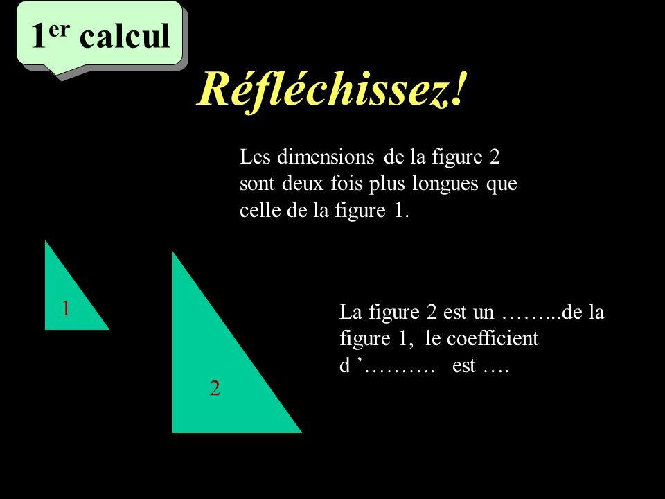 Ecrivez .diminuer les dimensions de 30% cest multiplier les dimensions par 0,7.