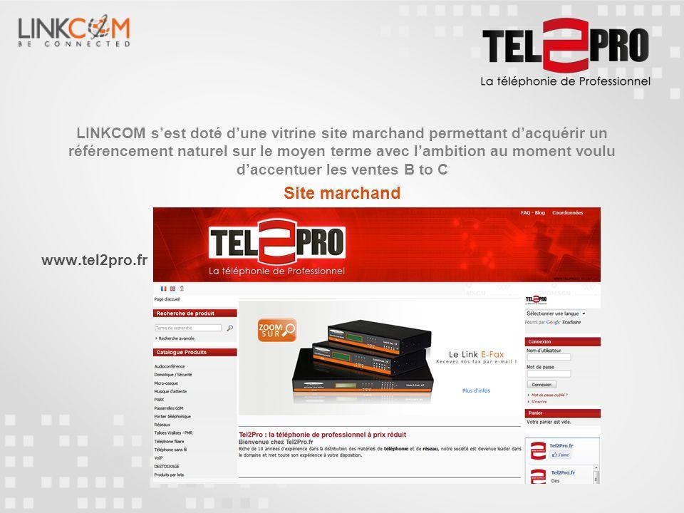 www.linkcom.fr Pour plus d informations, nous vous invitons à visiter notre nouveau site Corporate et à découvrir plus en détail les produits que nous proposons.