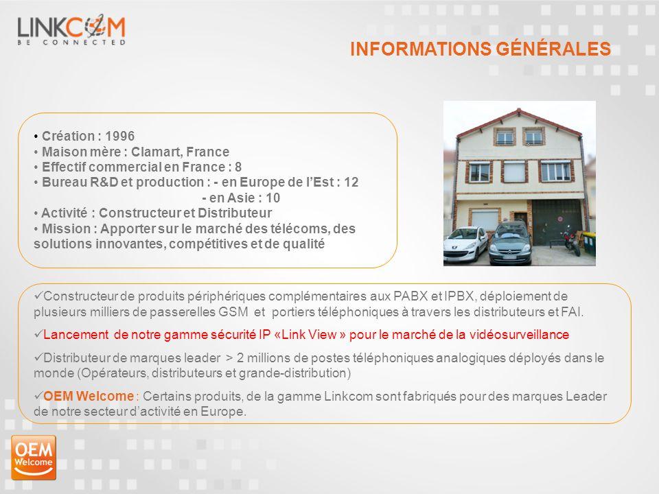 LINKCOM, est une référence montante dans le segment des Télécommunications et plus particulièrement dans le domaine de la Sécurité, le M2M et les passerelles GSM.