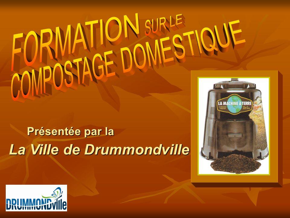 Présentée par la La Ville de Drummondville