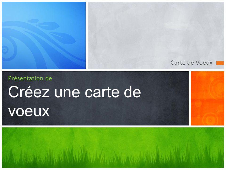 Créez une carte de voeux Une carte de vœux originale pour offrir à vos amis 1 Récupérez une texture 2 Lancez LibreOffice Impress 3!