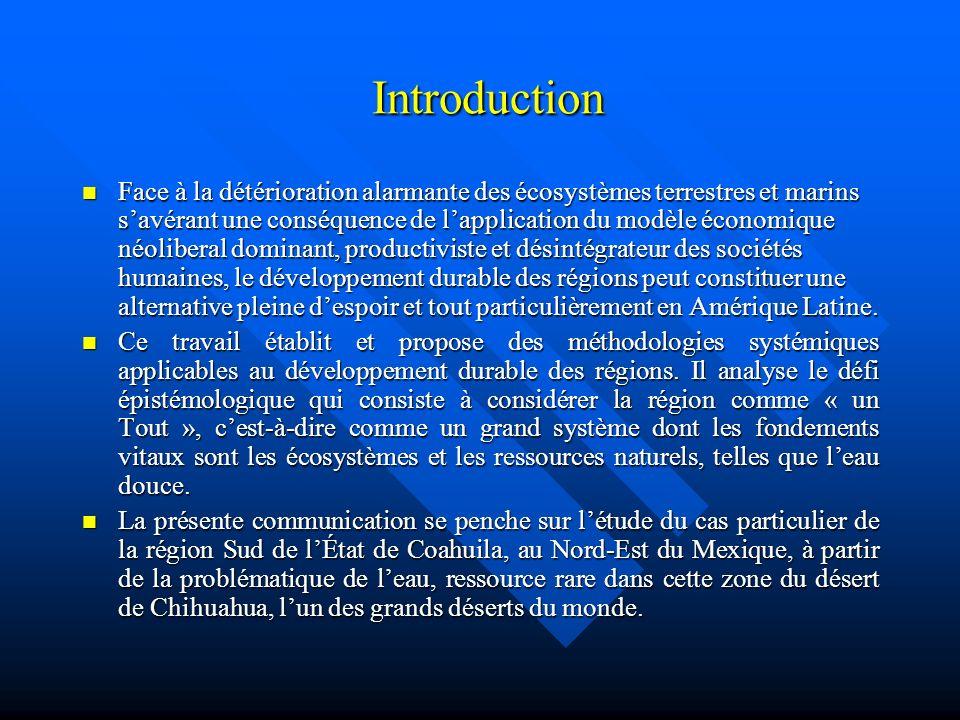 Le développement durable des régions (2) Le Système-Région