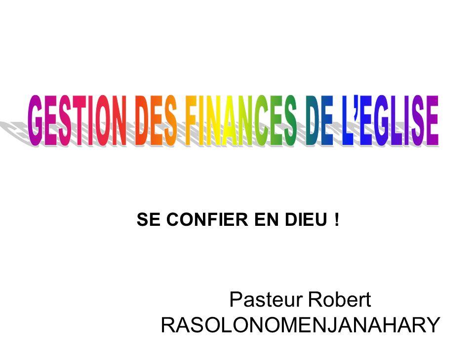 Pasteur Robert RASOLONOMENJANAHARY SE CONFIER EN DIEU !