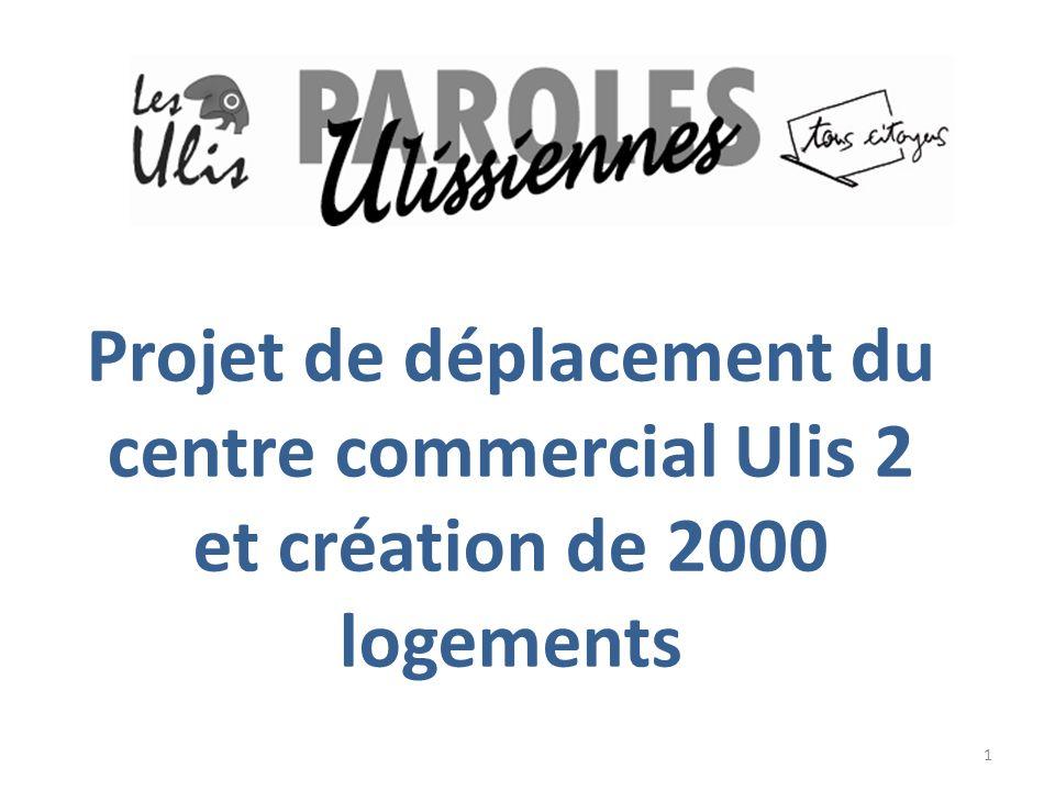 Projet de déplacement du centre commercial Ulis 2 et création de 2000 logements 1