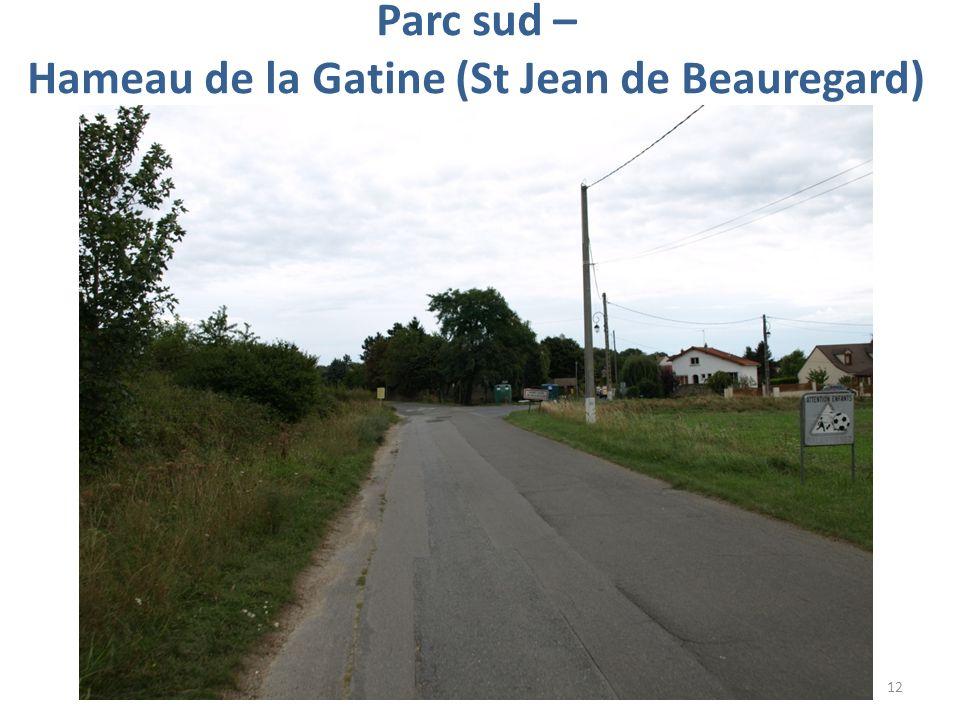 Parc sud – Hameau de la Gatine (St Jean de Beauregard) 12