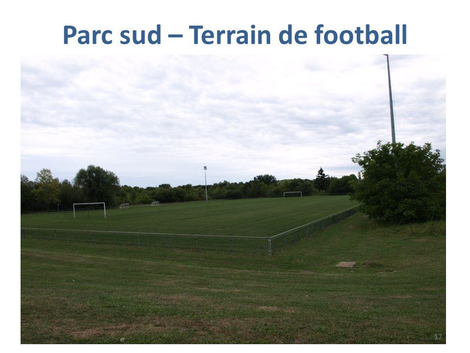 Parc sud – Terrain de football 17