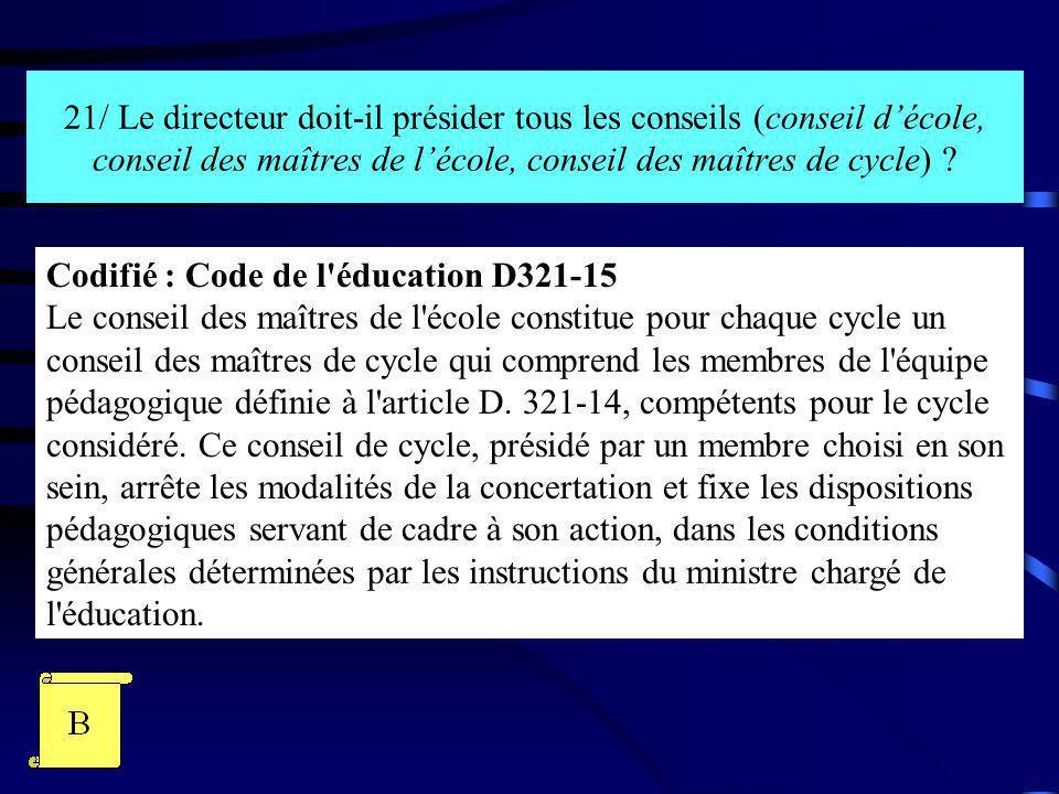 22/ Le maire dune commune peut-il demander la réunion dun conseil décole exceptionnel .