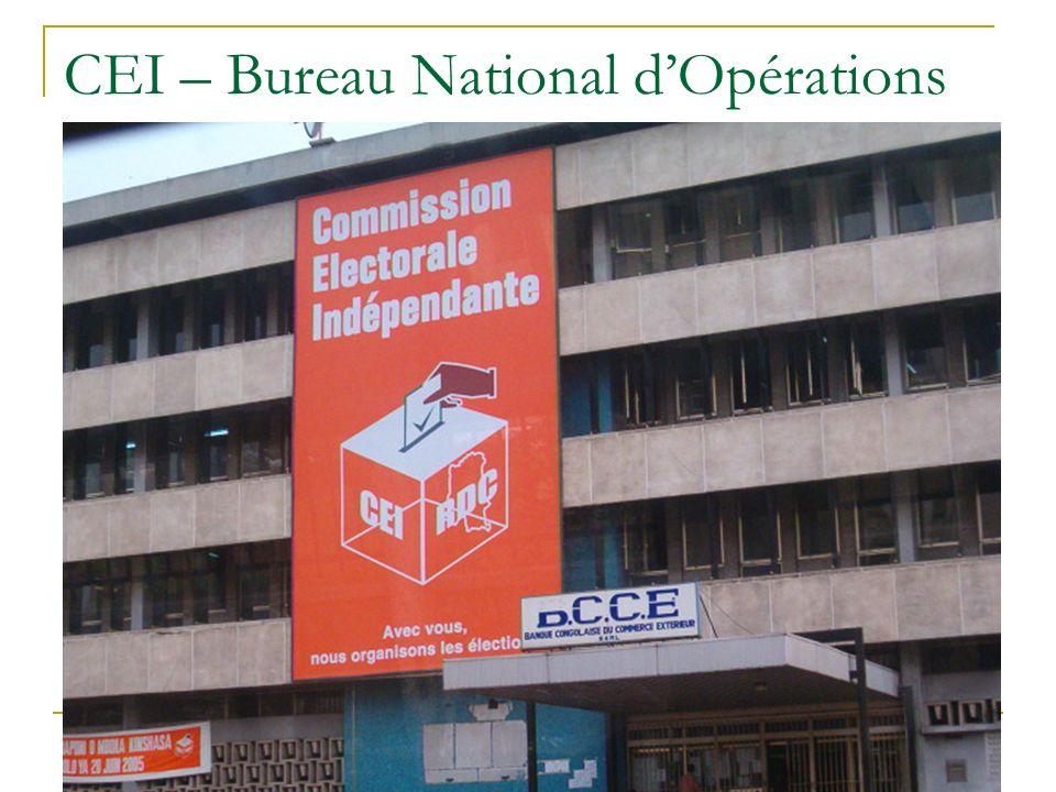 CEI – Bureau National dOpérations