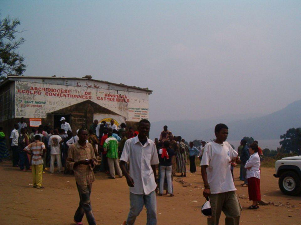 Centres denrôlement locaux dans la province de Kinshasa