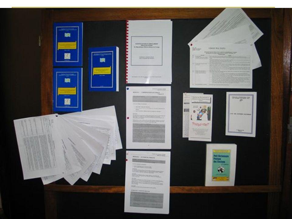Kits didentification et denrôlement