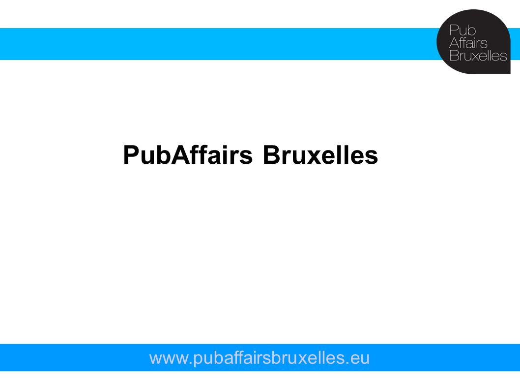 PubAffairs Bruxelles www.pubaffairsbruxelles.eu