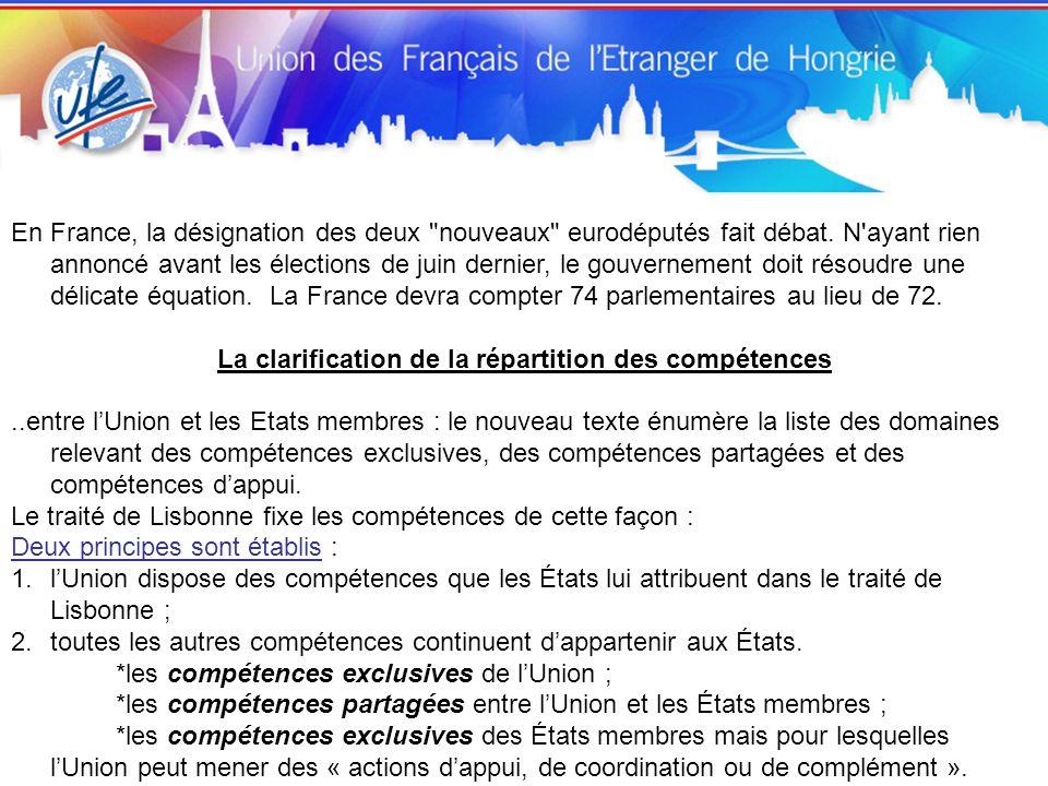 En France, la désignation des deux nouveaux eurodéputés fait débat.