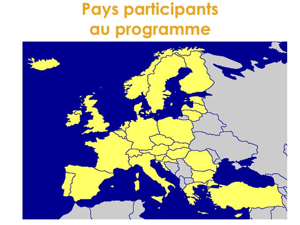 Pays participants au programme