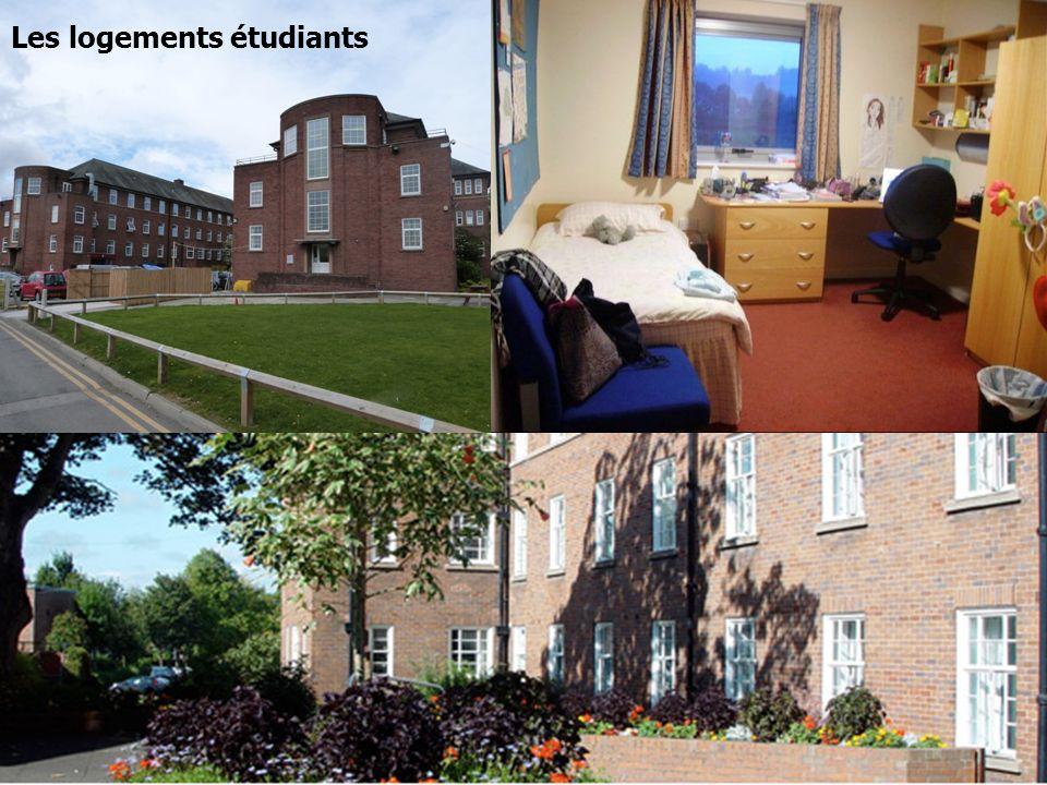 Logements universitaires Les logements étudiants