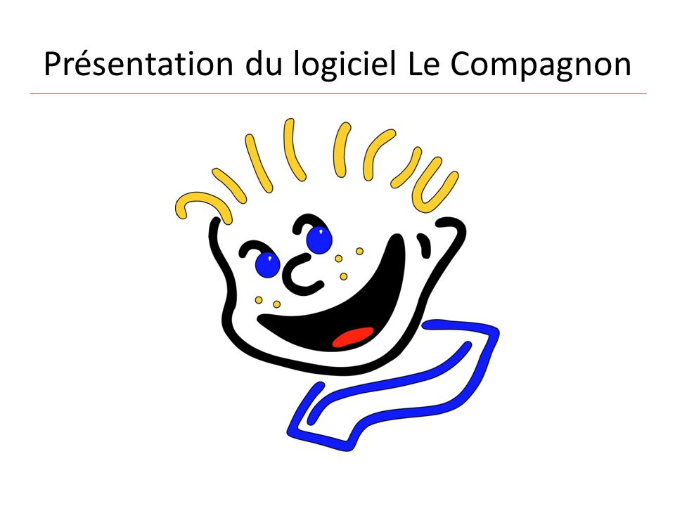 Présentation du logiciel Le Compagnon