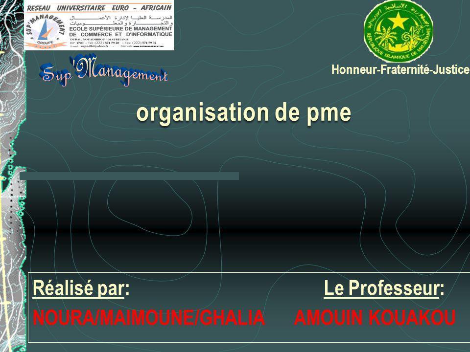 Réalisé par: Le Professeur: NOURA/MAIMOUNE/GHALIA AMOUIN KOUAKOU Honneur-Fraternité-Justice