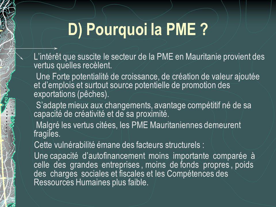 D) Pourquoi la PME .