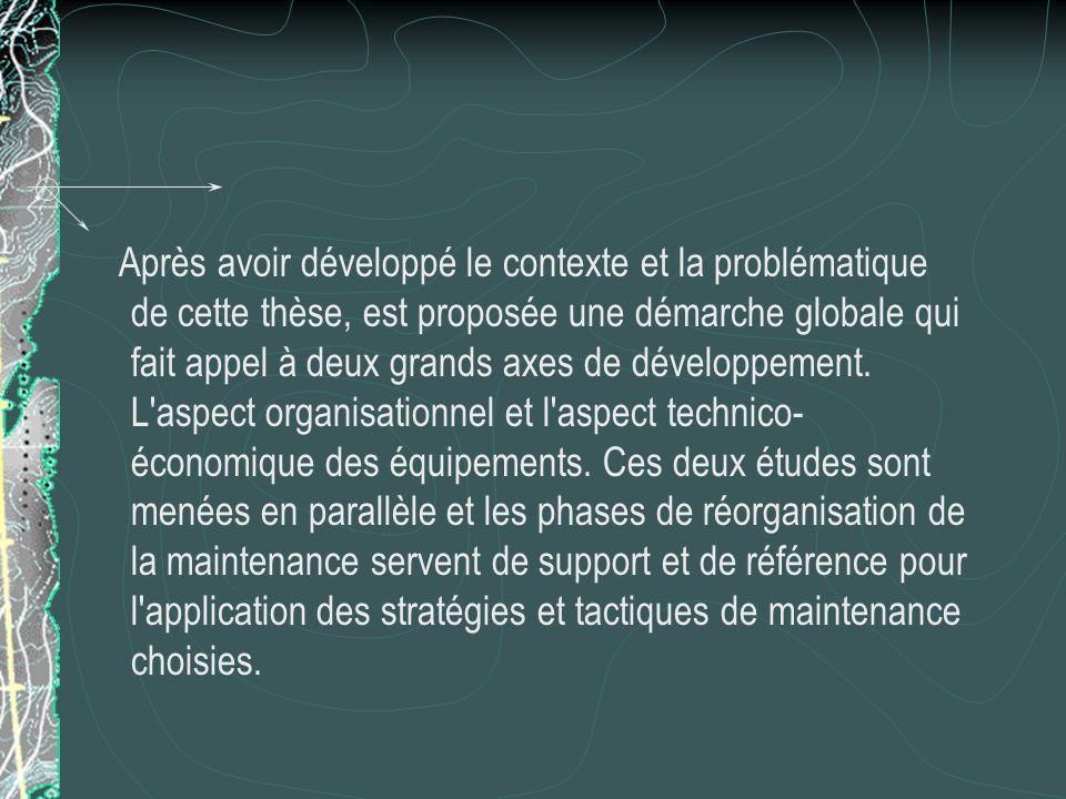 Après avoir développé le contexte et la problématique de cette thèse, est proposée une démarche globale qui fait appel à deux grands axes de développement.