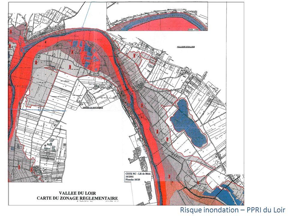 Risque inondation – PPRI du Loir