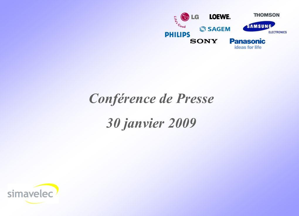 1 Conférence de Presse 30 janvier 2009