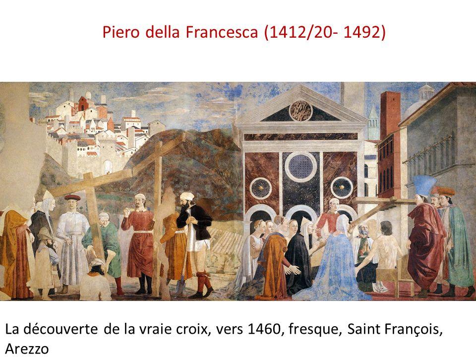 Piero della Francesca (1412/20- 1492) La découverte de la vraie croix, vers 1460, fresque, Saint François, Arezzo