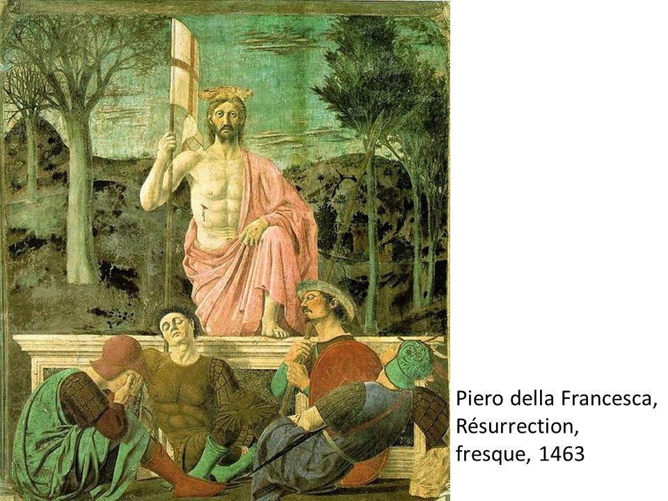 Piero della Francesca, Résurrection, fresque, 1463