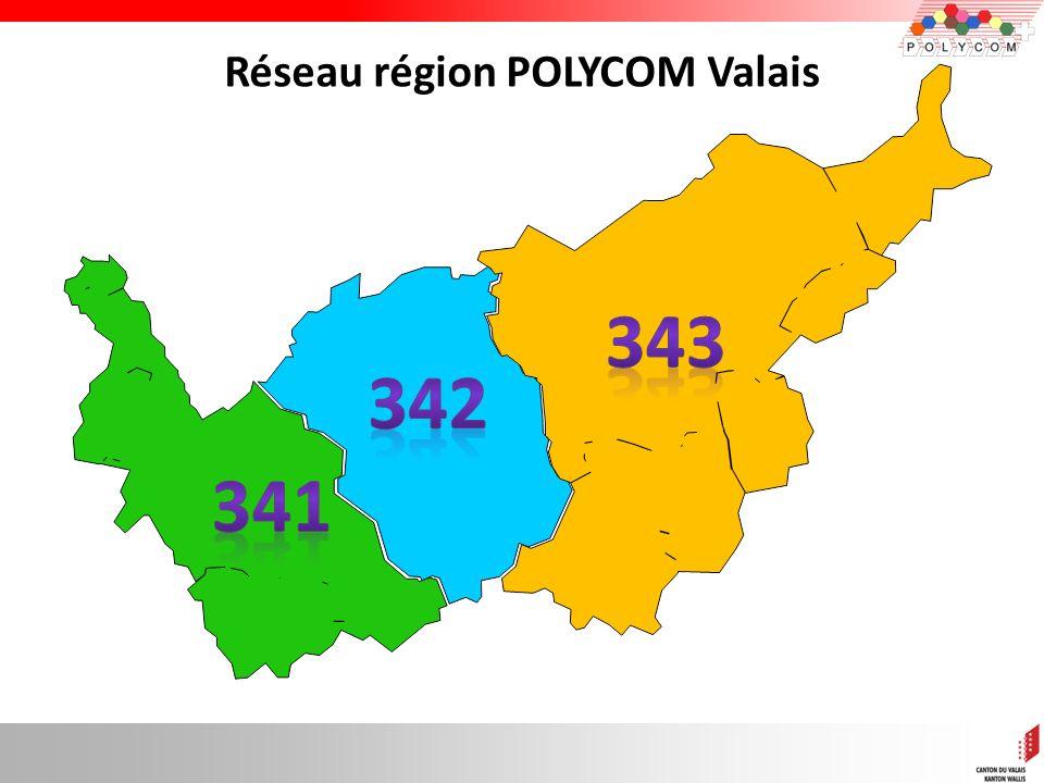 10 Réseau région POLYCOM Valais