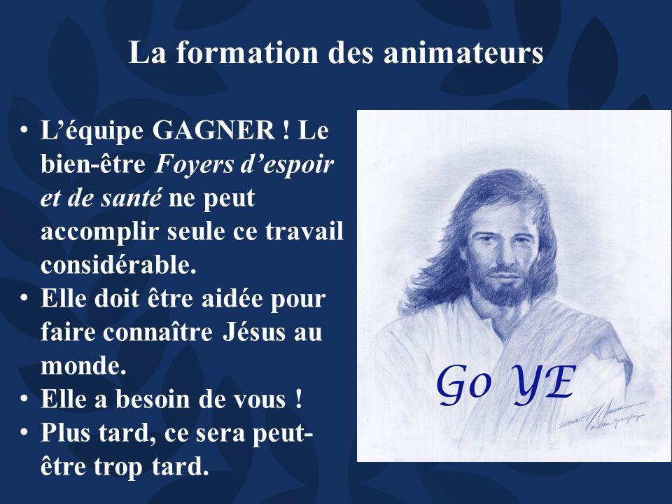 Léquipe GAGNER .