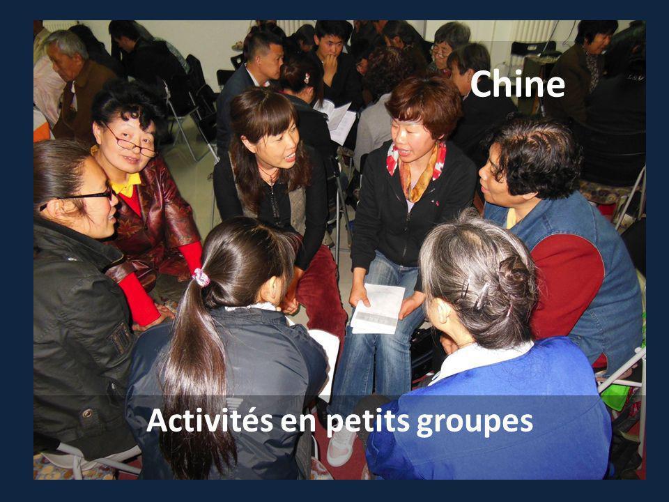 Chine Activités en petits groupes