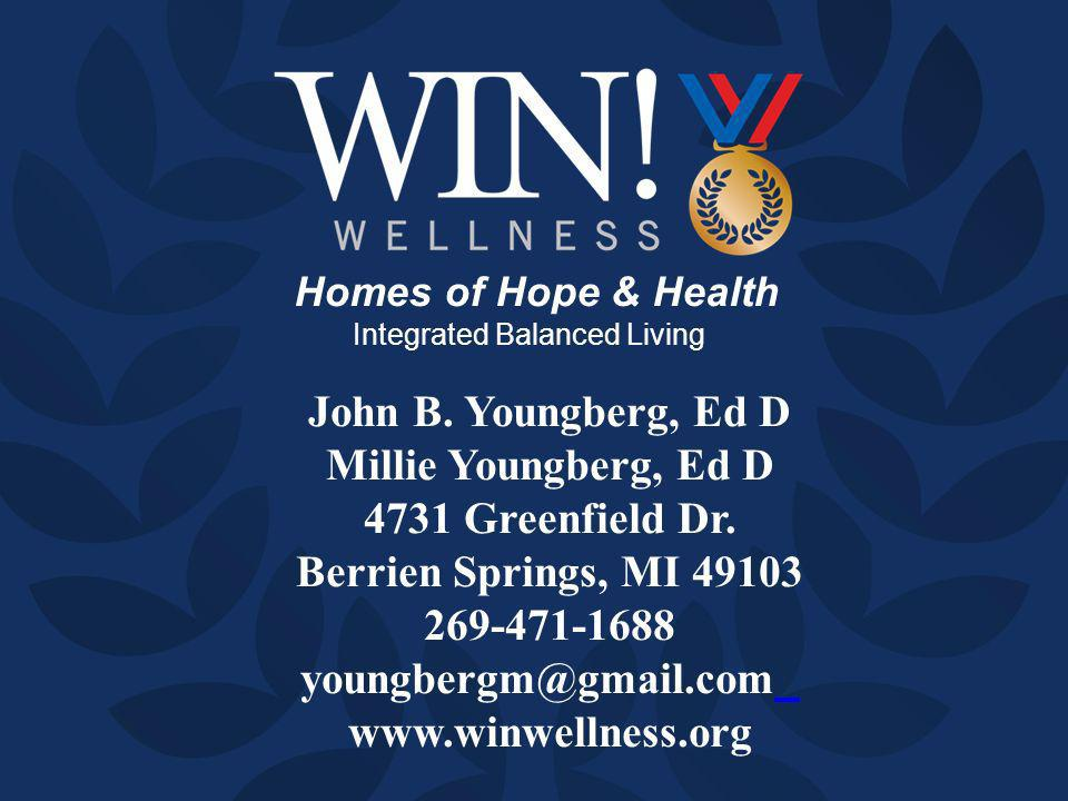 Homes of Hope & Health Integrated Balanced Living John B.