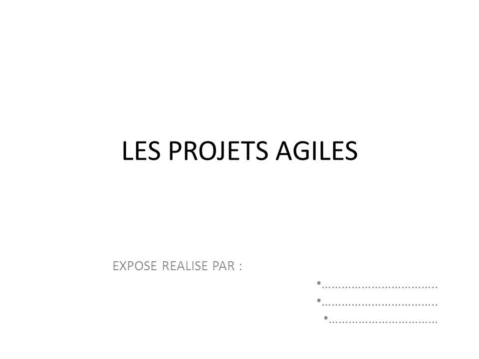 Plan Introduction Quest-ce quun projet Agile .