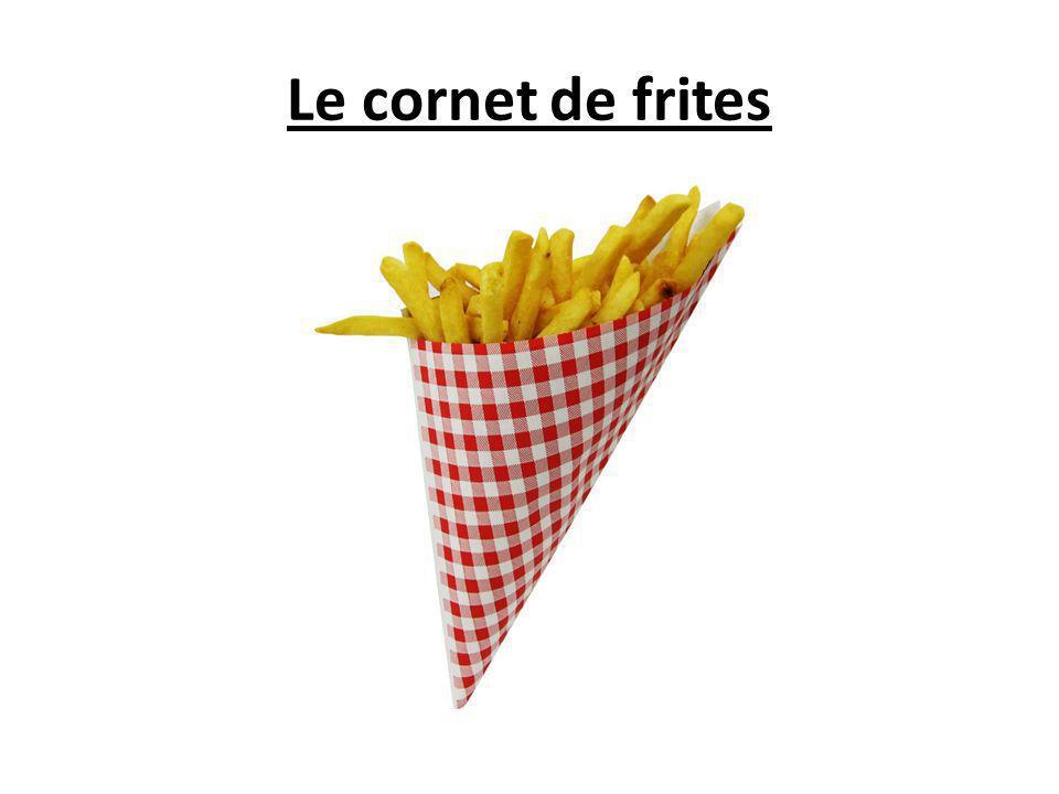 Le cornet de frites