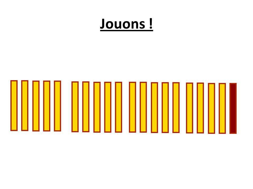 Conclusion : Pour être sûr de gagner avec un cornet de vingt frites, peu importe le nombre maximal de frites que lon peut manger, il ny a donc quun seul calcul assez simple à effectuer : une division euclidienne.