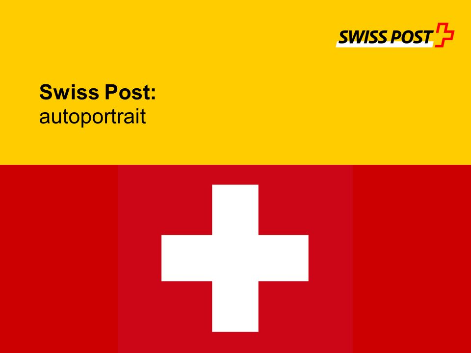 Swiss Post: autoportrait