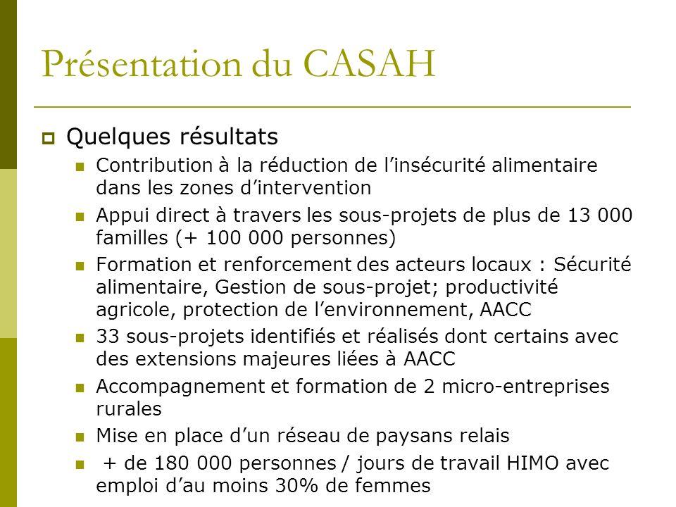 Parcours de lexpertise ÉFH au CECI Politique institutionnel depuis 1992, renouvelée en 2007 Comité institutionnel EFH et participation statutaire de la DG Ressources (financières et humaines) institutionnelles dédiées à ÉFH dont la création dune équipe spécialisée des ressources au siège et dans les bureaux pays en 2009 (3 ressources en Haïti) Un effort soutenu pour la prise en compte de la dimension ÉFH dans tous les projets du CECI