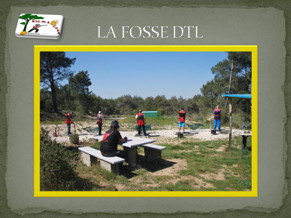 La fosse DTL consiste en une machine de lancement placée dans une fosse surélevée. La fosse doit-être construite de matériaux qui doivent résister à l