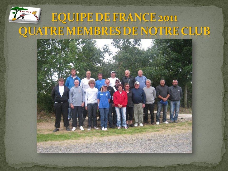 En 2012, nous avons battu le record de club ayant le plus grand nombre de juniors. 2000 Premiers compétiteurs nationaux club France et médaillé au cha