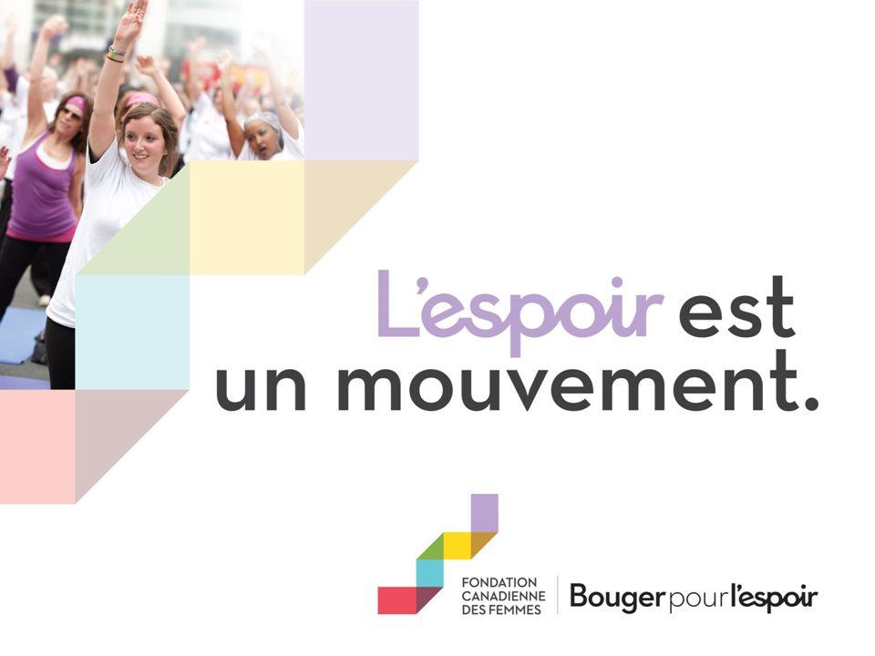 Bienvenue à la Fondation canadienne des femmes JOIGNEZ-VOUS À LÉQUIPE DE ENTREPRISE !