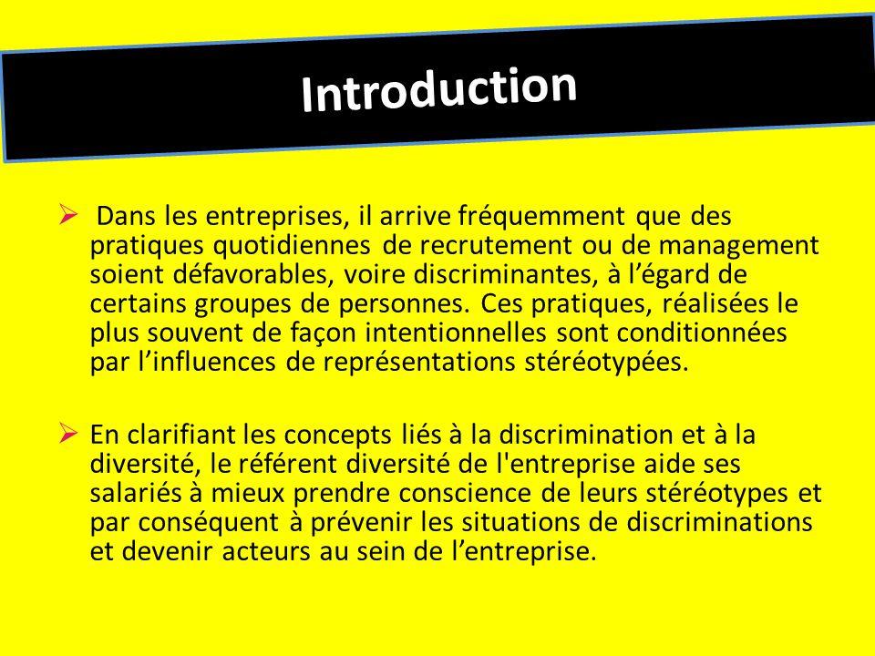 Séquence 4 : Pourquoi et comment agir sur la diversité et légalité de traitement .