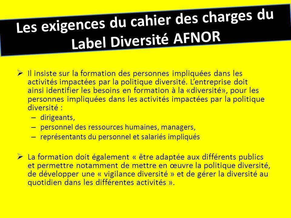 Les objectifs généraux de la formation / sensibilisation Pour la formation dirigeants et IRP : – Les sensibiliser à la diversité, légalité de traitement et la non- discrimination.
