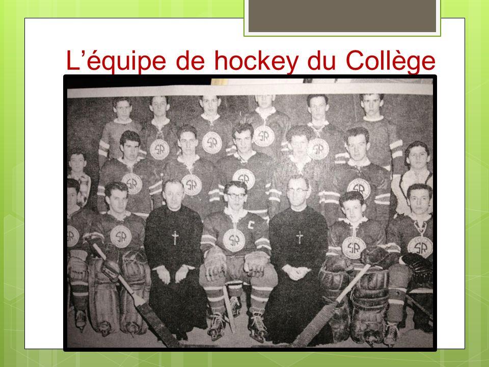 Léquipe de hockey du Collège