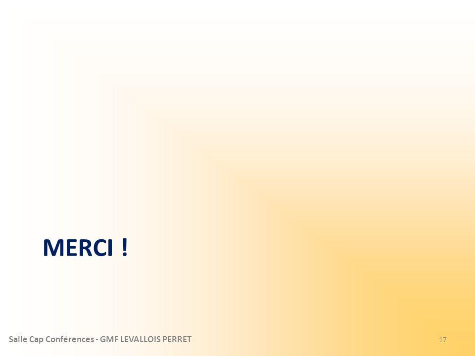 Salle Cap Conférences - GMF LEVALLOIS PERRET MERCI ! 17